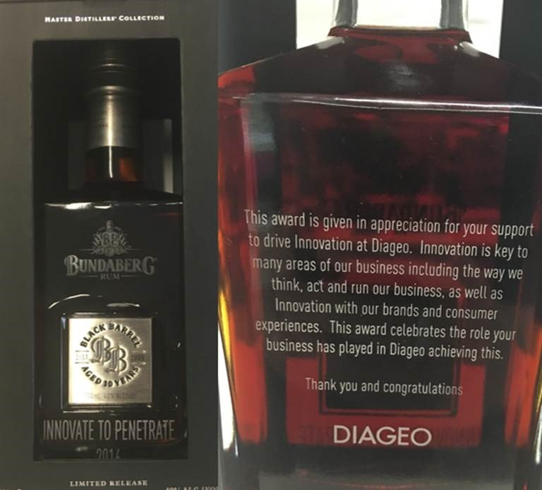 Diageo Innovate to Penetrate